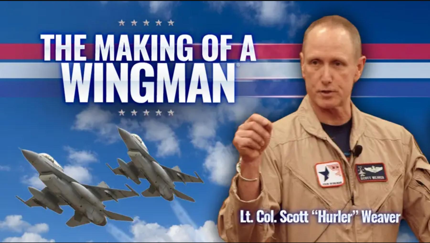 speaker scott r weaver wingman